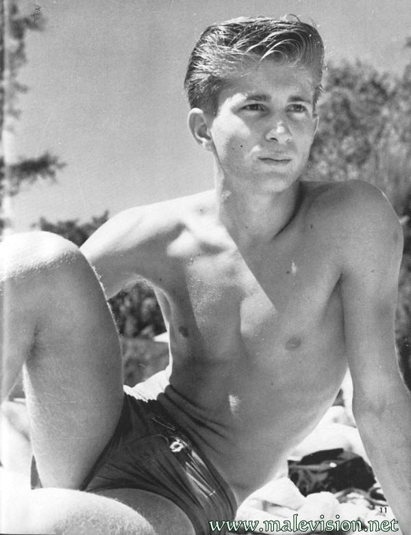 Vintage Teen FKK-Fotos