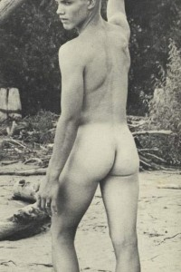 sweet nude vintage boy