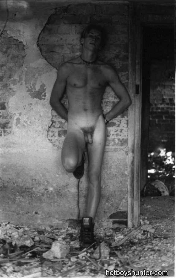 Charming naked boy
